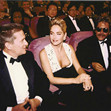 Michael Douglas, Sharon Stone and Mario Kassar at