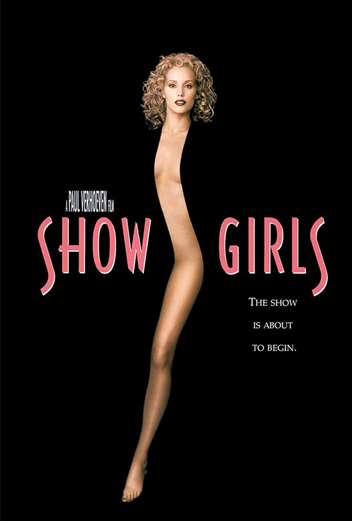 Poster for Showgirls